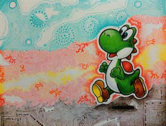 Yoshi! by magnifulouschicken