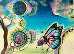 Spring Butterfly by magnifulouschicken