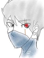 Kakashi doodle by GiottoLover