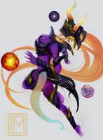 Dark Star Syndra by kumagzter