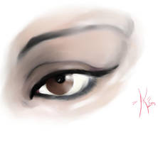 Spanish Eye by Dawnsknight