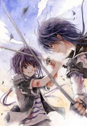 Fighting. by kandasama