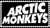Arctic Monkeys Stamp by D-o-w-n-p-o-u-r