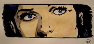 Her eyes by ajcrwl