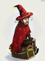 Rincewind and the Luggage by ajcrwl