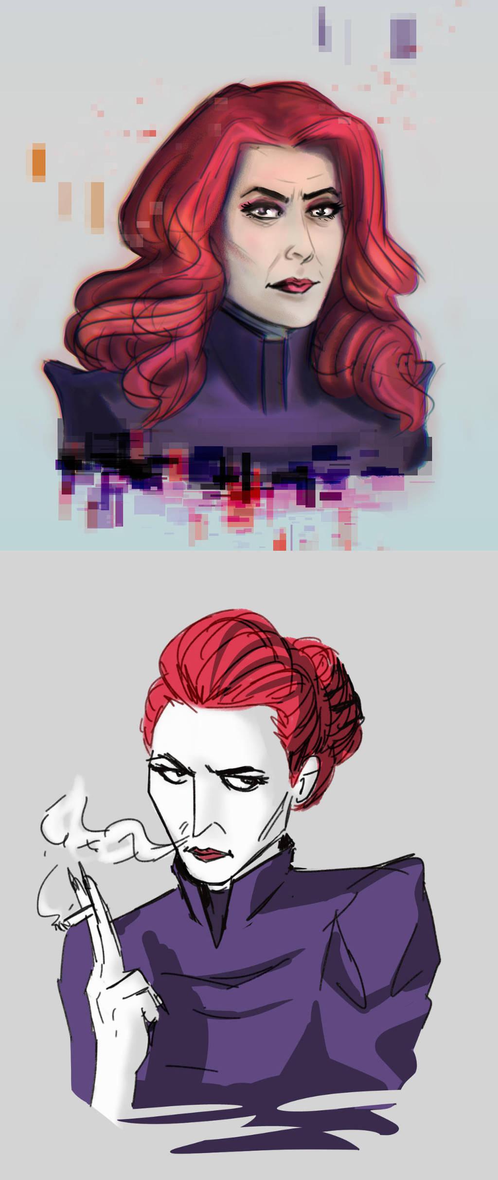 Katherine sketch dump by ajcrwl