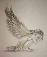 Angel Tattoo Design by DanielleHope
