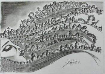 A beautiful city by HasnaaTabra