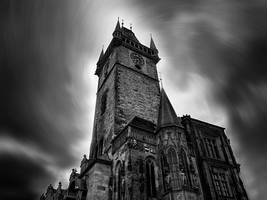 Cathedral tower in Prague by soultaker82