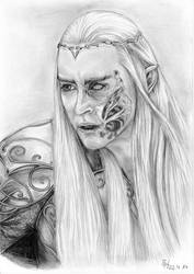 King Thranduil by Izmara