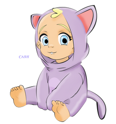 A cute little kitty named Lily by EddieMaximoff