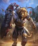 Ironfist Beast Warrior by kazashino