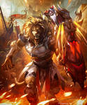 Ironfist Beast Warrior (evolved) by kazashino