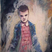 Stranger Things Eleven by Walter-Ostlie