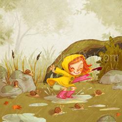RainyDays : Snails' Dance by Nephyla