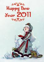 Happy New Year 2011 by Nephyla