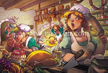 +RAXXON+ Behind the Feast by Nephyla