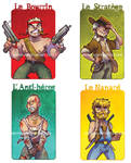 LAST ACTION HEROES by Nephyla