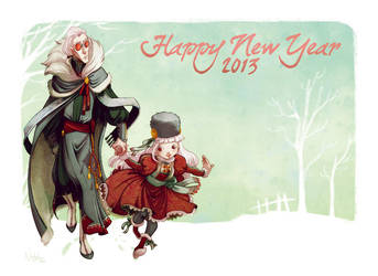 Happy New Year 2013 by Nephyla