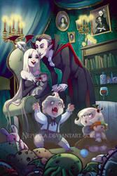 Vampire Family by Nephyla