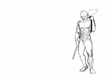 DragonHunter Sketch by alugo684