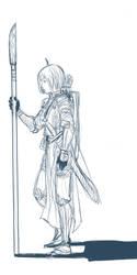 TP: walking armory by Minuiko