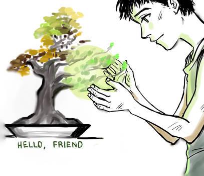 TP: hello, friend by Minuiko