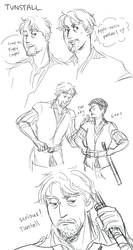 TP: Tunstall sketches by Minuiko