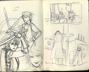 TP: sketch1 by Minuiko