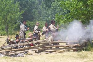 Confederate Defensives by WestytheTraveler