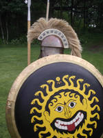 Greek Hoplite 3 by WestytheTraveler
