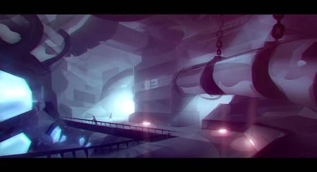 Sci Fi Mine Speedy by Devin-Busha