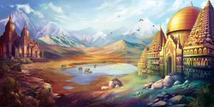 Indraprastha by goldfishkang
