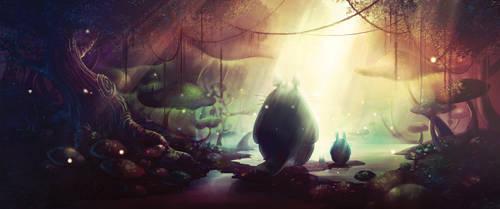 Totoro by goldfishkang