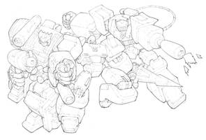 Transformers - Decepticons by mikebowden