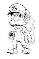 Mario by mikebowden
