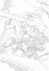 Earthling Pencil Cover by mikebowden
