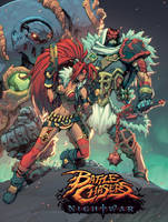 Battlechasers Nightwar Poster by mikebowden