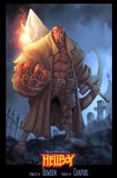 Hellboy by mikebowden