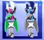 Deltarune Inspired Auction (CLOSED) by Little-Misfit-Adopts