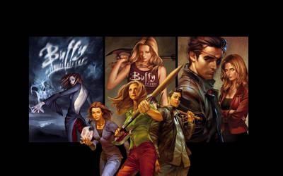 Buffy Season 8 Wallpaper by kortos117