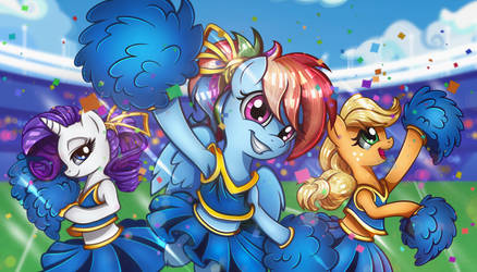Cheering for the Win! by Vocalmaker