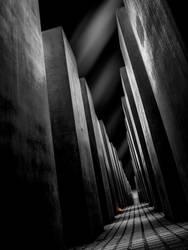 Holocaust Memorial, Berlin by DiRi
