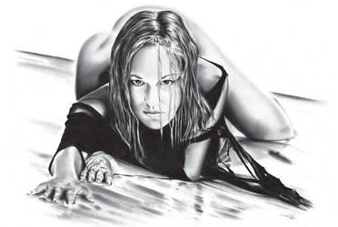 Maren on the Beach by DiRi