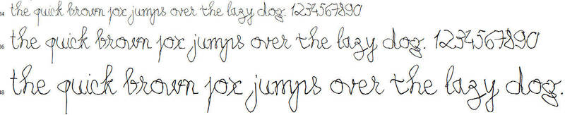My Left-Handed Writing [Font] - Coming Soon by Poemhaiku