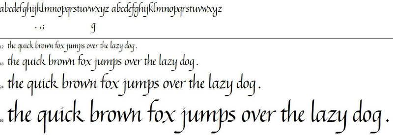 My Italic Script [Font] - Coming Soon by Poemhaiku