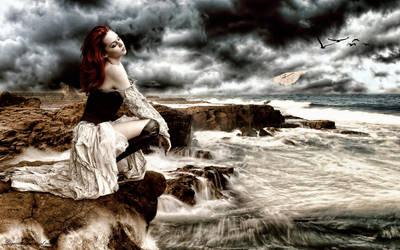 Lagrimas frente al mar by Josepcp