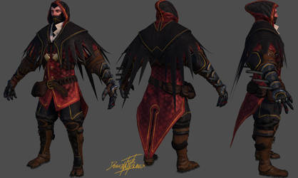 The Assassin - Jude by Dash-X
