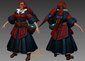 The Alchemist - Ruth WIP by Dash-X