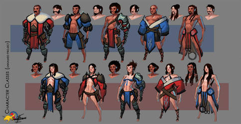Character Classes by Dash-X